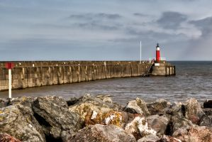 Watchet Lighthouse 1 by CharmingPhotography