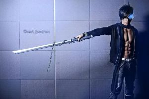 Black Rock Shooter Kaito by surberus666