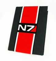 Big N7 notebook by Katlinegrey