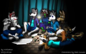 Playing RPG by WhiteRoo