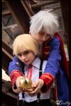 Hetalia Little Germany Prussia - Schwertkampf by SharyNyanko