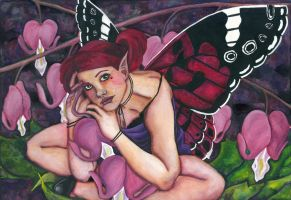 Bleeding Hearts Fairy by petiteophelia