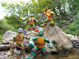 Nickelodeon Teenage Mutant Ninja Turtles by KickoBang