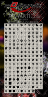 788 Particle Brushes by Mosh-X