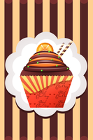 Cup Cakes : African Queen by Citronade-Arts