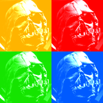 Rainbow Vader - THE FORCE AWAKENS by MrSteiners