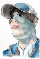 Water Color Self Portrait by ThePat