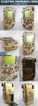 STEAMPUNK GAMEBOY by Thretris