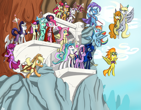 Tales of Equestria - Radiance of Harmony by Reikomuffin
