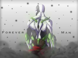 Forever Man: Alone by ThePsychoArtist