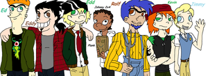 Teens of the Cul-De-Sac: The Boys by PurfectPrincessGirl