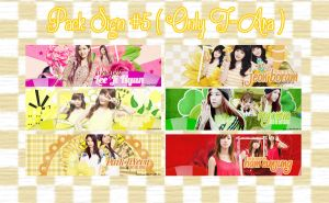 Pack Signature #5 ( Only T-Ara ) by BunnyLuvU