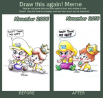 Draw This Again Meme: Touching Is NOT Good by cmdixon589