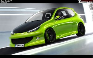 Peugeot 206 by CypoDesign