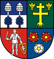 Lesser coat of arms of Central Slovak region by hosmich