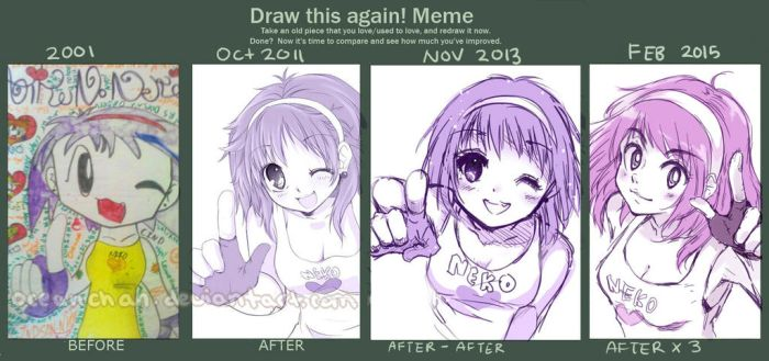 Draw This Again Meme #6 by oceantann