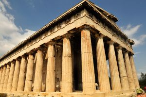 Temple of Hephaestus 1 - Athens by wildplaces