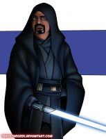 OC Jedi (color version) by TravisTheGeek