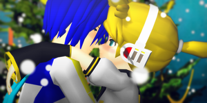 _MMD_ Eskimo kiss by xXHIMRXx