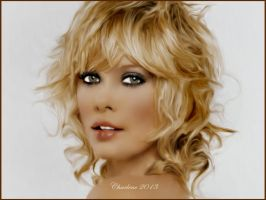 Charlize Theron (Painting) by chamirra