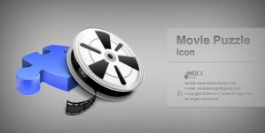movie Puzzle icon by AndexDesign