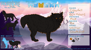 TBT | Crowfall | Riverclan warrior by Nermsters