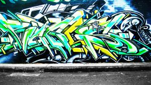 Graffiti Wallpaper 1 by alekSparx