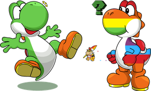 Recolored Yoshi by Blistinaorgin