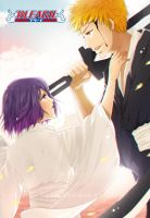 Bleach fanart: Ichiruki by LieNai