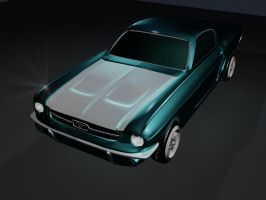 High poly car modeling by Chris0919