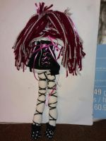 Gothic Doll Back by Drachenfire305