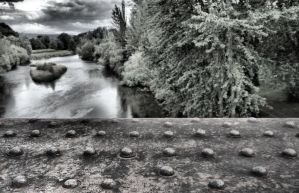 Bridge over Usk by Oldtoppy