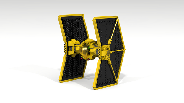 Lego Mining Guild TIE-Fighter by myINQI