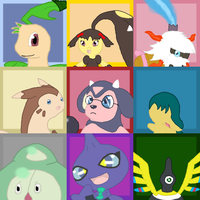 PMD-E Arc 2 Icon Sheet by Moss-Stone