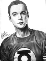 Sheldon Cooper by BarbaraWu