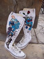 Emma Watson Converse Ultra-His by PattersonArt