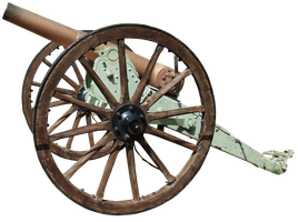 Cannon PNG by fuguestock