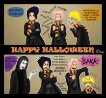 Happy Halloween Naruto Special by Viress