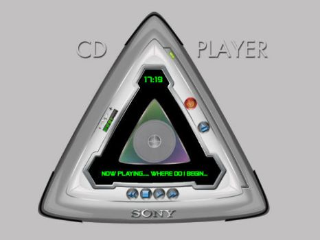 GUI for CD Player by gopalb