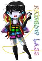 Gaia Commission: Rainbow Lass by teaunicorn