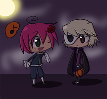 Happy Halloween 8D by minakonumnums