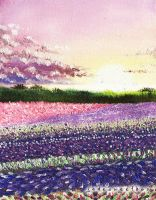 Fields of Lilac by jadelizabeth