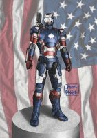Iron Patriot by kris-knave