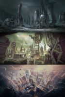 SciFi Cities by TitikAwalCreative