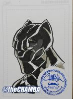 FCBD2016 - Blank Panther by theCHAMBA