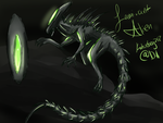 Laminant Alien Rough/Concept Design by Katiefrog217
