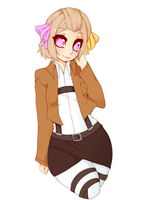 commission aot oc Copy by punipaws