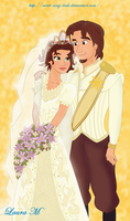 Tangled Wedding by Sweet-Amy-Leah