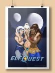 ElfQuest Poster by BrandyWoods