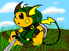 Raichu Link by epoose